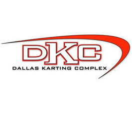 The logo of Dallas Karting Complex, a success story of FetchRev