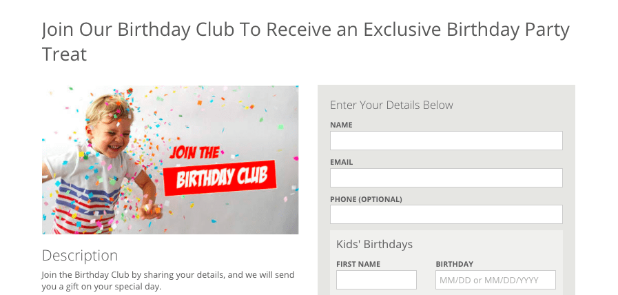 Collect more birthdays with a date collector